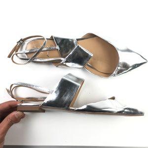 "Banana Republic ""Abiline"" Metallic Sandals DR01397"